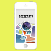 iPHONE APP POSTKARTE